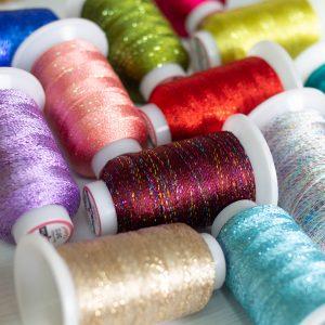 GlaMore™ - 12wt Rayon and Metallic Thread